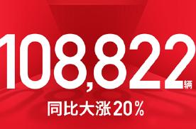 吉利汽车5月销量108822辆,同比增长20%