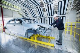 领克ZERO concept量产车白车身下线