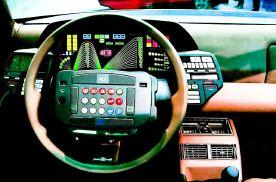 这究竟是汽车驾驶室还是飞船驾驶舱?