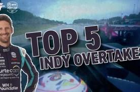 【Indycar】格罗斯让眼中自己最好的5次超车