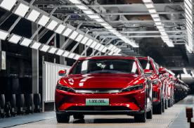 比亚迪:中国首家完成一百万新能源乘用车下线的车企,开启战略新征程