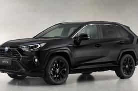 大面积黑色套件加持 丰田RAV4混动特别版官图发布