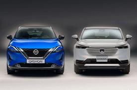 全新本田缤智对比全新日产逍客,谁会是15万级家用SUV优选?