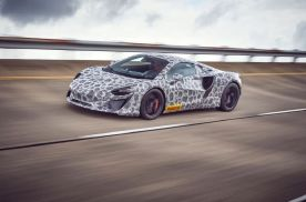 迈凯伦全新高性能混合动力超级跑车进入最后测试阶段