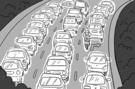 堵车开车技巧,身为危运司机的你都知道吗?