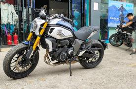 国产复古摩托新标杆 春风700CL-X到店实拍