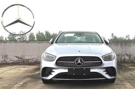 将于上海车展亮相 国产奔驰E 350eL实车图曝光