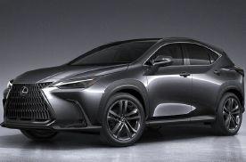 全新雷克萨斯NX,丰田TNGA架构打造,能对抗主流中型豪华SUV吗?