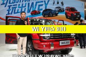 WEY坦克300北京车展正式开启预售