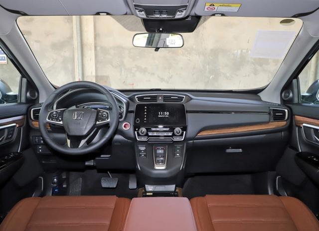 2021款本田CR-V上市,颜值提升 科技配置更丰富 售16.98万起