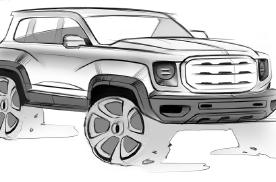 走硬派路线,哈弗全新SUV设计图曝光