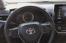 抢鲜看:丰田卡罗拉1.8L双擎配备车道偏离辅助和自行巡航功能