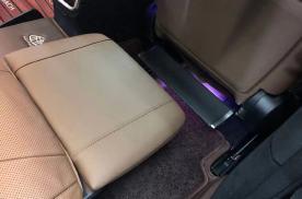 江苏无锡20款奔驰S350L改装腿托脚托效果