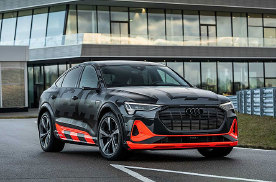 奥迪最新自信之作,性能电动SUV发表,不过似乎还跑不赢特斯拉