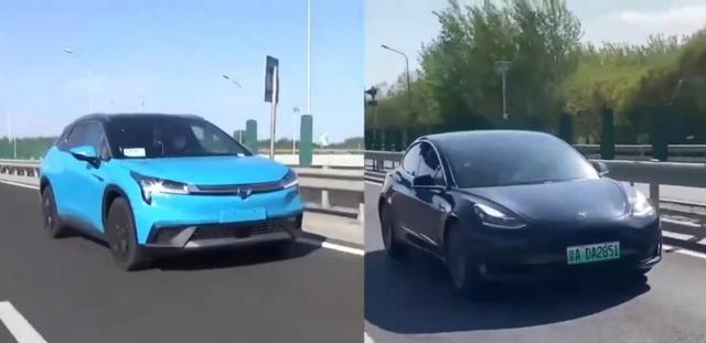 自动驾驶实车路试,对比发现,它比特斯拉Model 3更适合中国