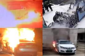 电动汽车永远脱离不了的话题,威马EX5起火自燃