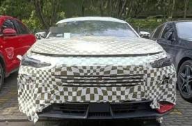 长安UNI序列首款轿车路试谍照曝光 运动风格 10月发布