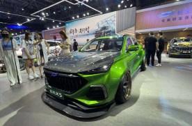 2021重庆车展 | 绿魔吸睛 长安欧尚X5改装版亮相