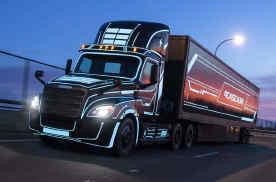 戴姆勒Freightliner将推首款重型电动卡车