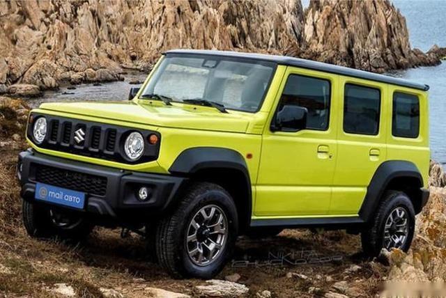 五门版铃木吉姆尼印度投产 预计年中发布-爱卡汽车爱咖号