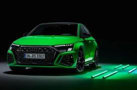变绿了、也变强了!新一代奥迪RS3,对5缸高性能引擎的执着