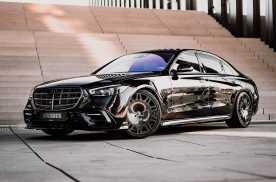 全黑酷雅豪华,售价着实不菲,巴博斯推全新奔驰S级改装版