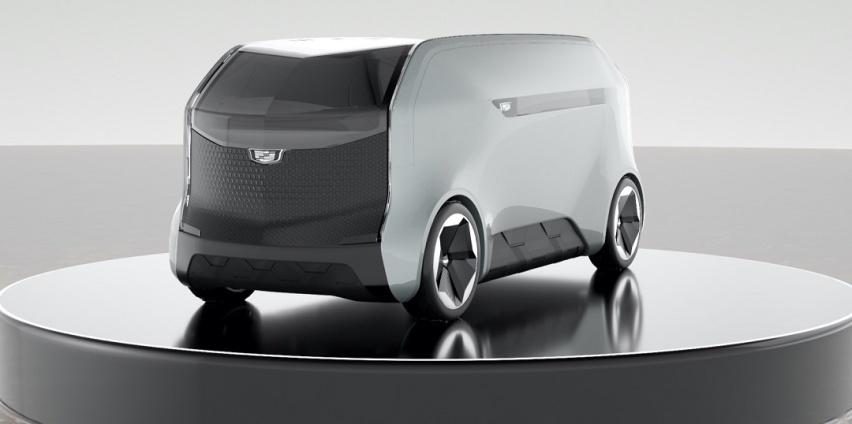 凯迪拉克Halo自动驾驶概念车亮相CES2021