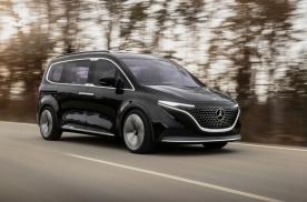梅赛德斯-EQT概念车发布,豪华品牌开始布局纯电MPV