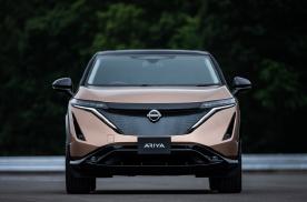 纯电动跨界SUV车型-日产Ariya帅气登场