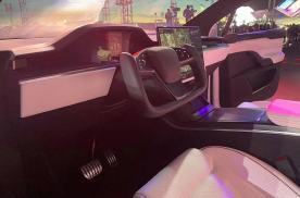 秀你一脸!特斯拉Model S Plaid