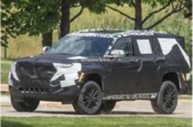 Jeep全新Wagoneer谍照发布,将于2021年量产销售