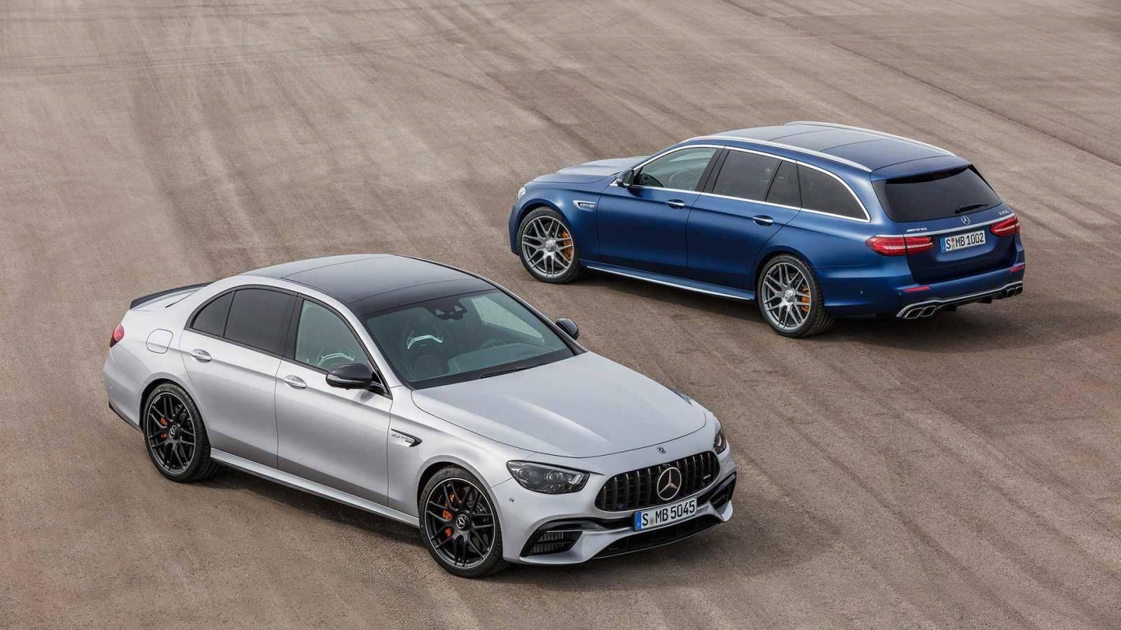 挑战新M5,全新AMG E63 S发布,这奔驰旅行车可太香了