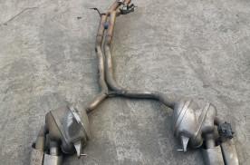 改造保时捷Macan Turbo原厂排气