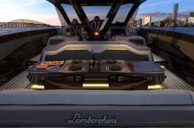 富豪玩具 兰博基尼联名打造超级游艇 驾驶舱为兰博基尼跑车设计