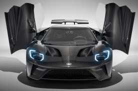 福特GT液态碳纤维版 比普通版更加稀有难得