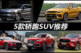 预算15-20万元买轿跑SUV,领克05领衔!