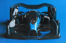 布加迪要参加F1?未来派布加迪F1赛车设计曝光
