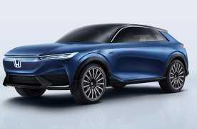 本田纯电动SUV概念车与新一代辅助驾驶系统一同亮相