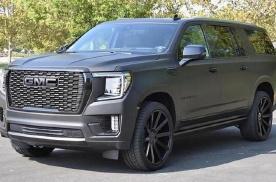 全新GMC大型SUV海外实拍 将搭载6.2 V8发动机