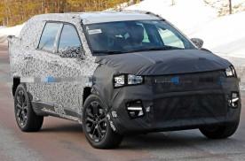 新款吉普七座SUV最新谍照 基于指南者平台打造/将年底前亮相