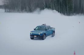 科幻电动皮卡,Rivian发布新车测试视频