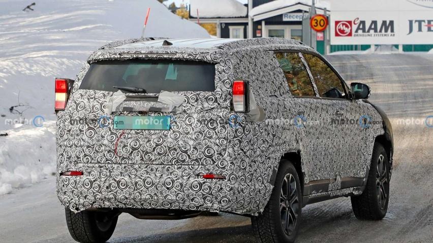 Jeep全新7座SUV采用指南者平台 未来将有望入华
