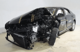 帕萨特二次碰撞成绩全优,感谢中保研为汽车安全做出的贡献!