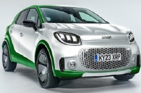 小巧精致 拼色车身 smart概念车将于9月慕尼黑车展发布