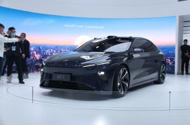 2021上海车展丨搭载NAD自动驾驶技术 蔚来ET7亮相