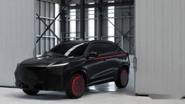 全黑伪装冷酷神秘,搭载蓝鲸1.5T发动机,欧尚X5未上市就先火?