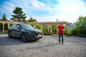 终端优惠1.5万的大5座SUV,UR-V空间比汉兰达还大?