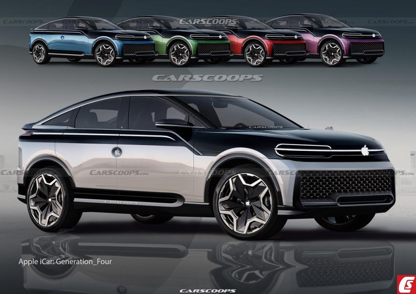 《【华宇平台怎么注册】苹果汽车渲染图曝光,采用很有未来感的设计》