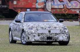新款宝马2系双门轿跑车谍照曝光,后轮驱动配备手动变速箱