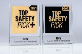 美国IIHS发布年度安全奖,沃尔沃稳如老狗,日系美系反差巨大